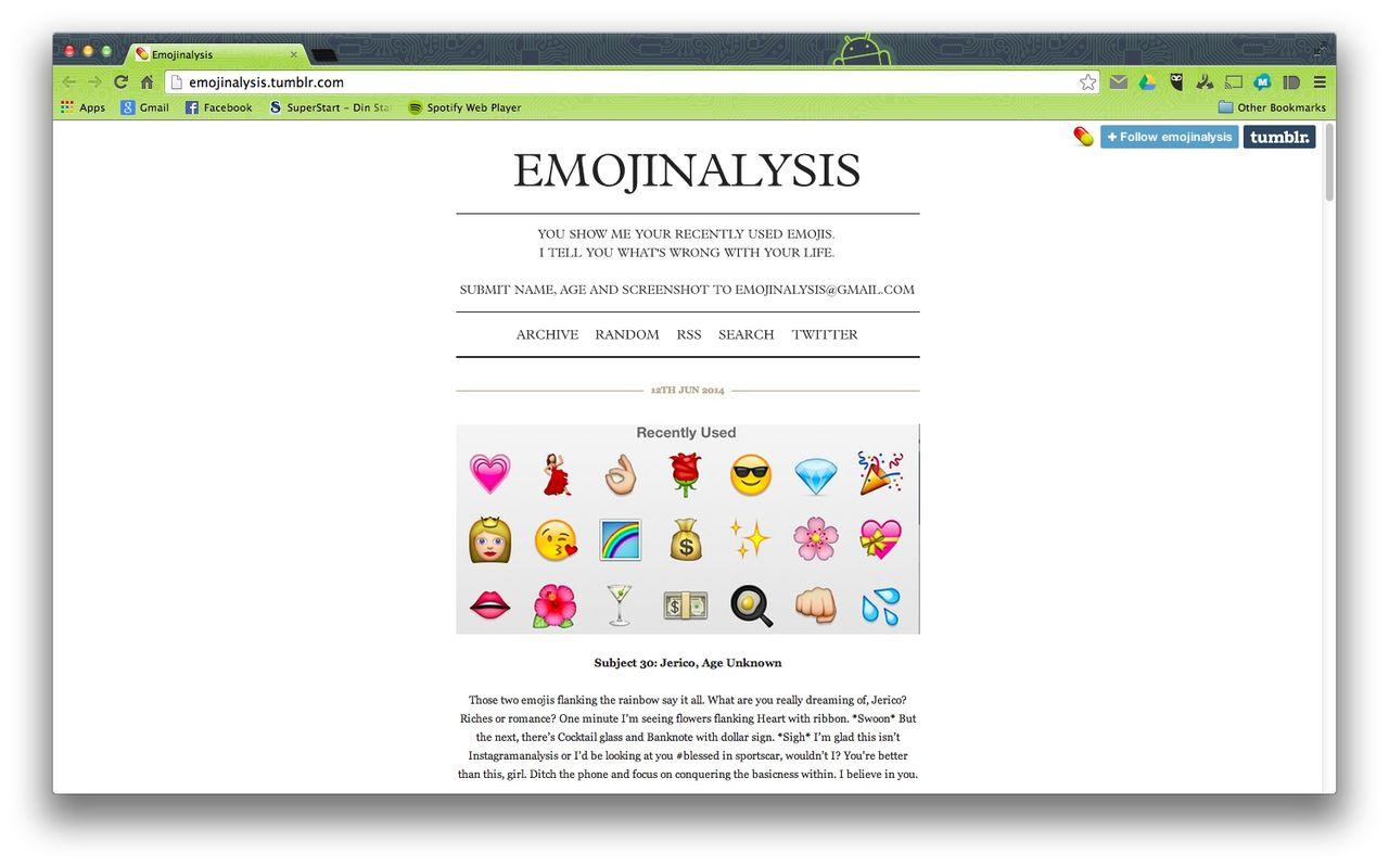 Emojianalysis