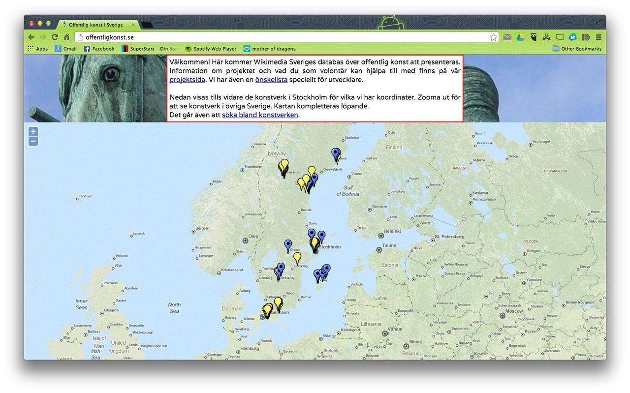 Svensk upphovsrättsorganisation stämmer Wikimedia