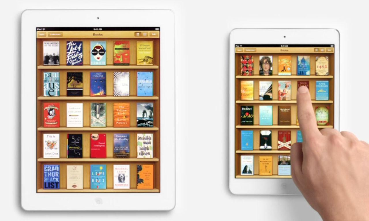 Apple ger sig i iBooks-målet