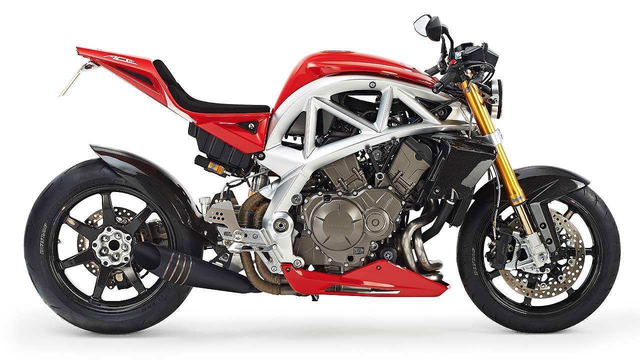 Bilbyggaren Ariels nya motorcykel