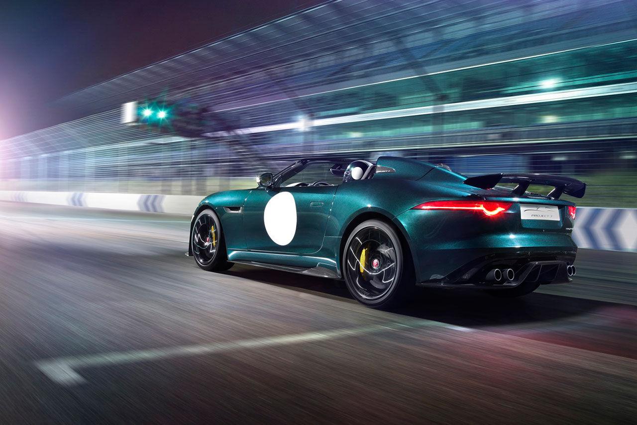 Jaguar F-Type Project 7 läcker ut