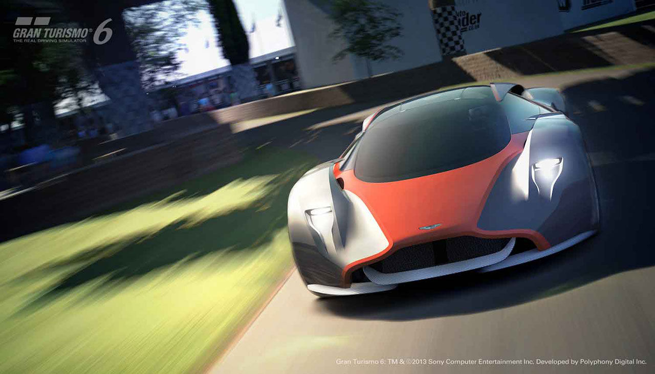 Aston Martins bidrag till Gran Turismo