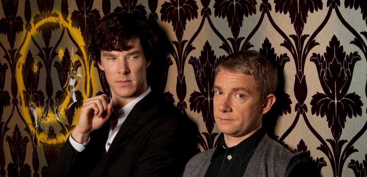 Nästa säsong av Sherlock sänds under 2015