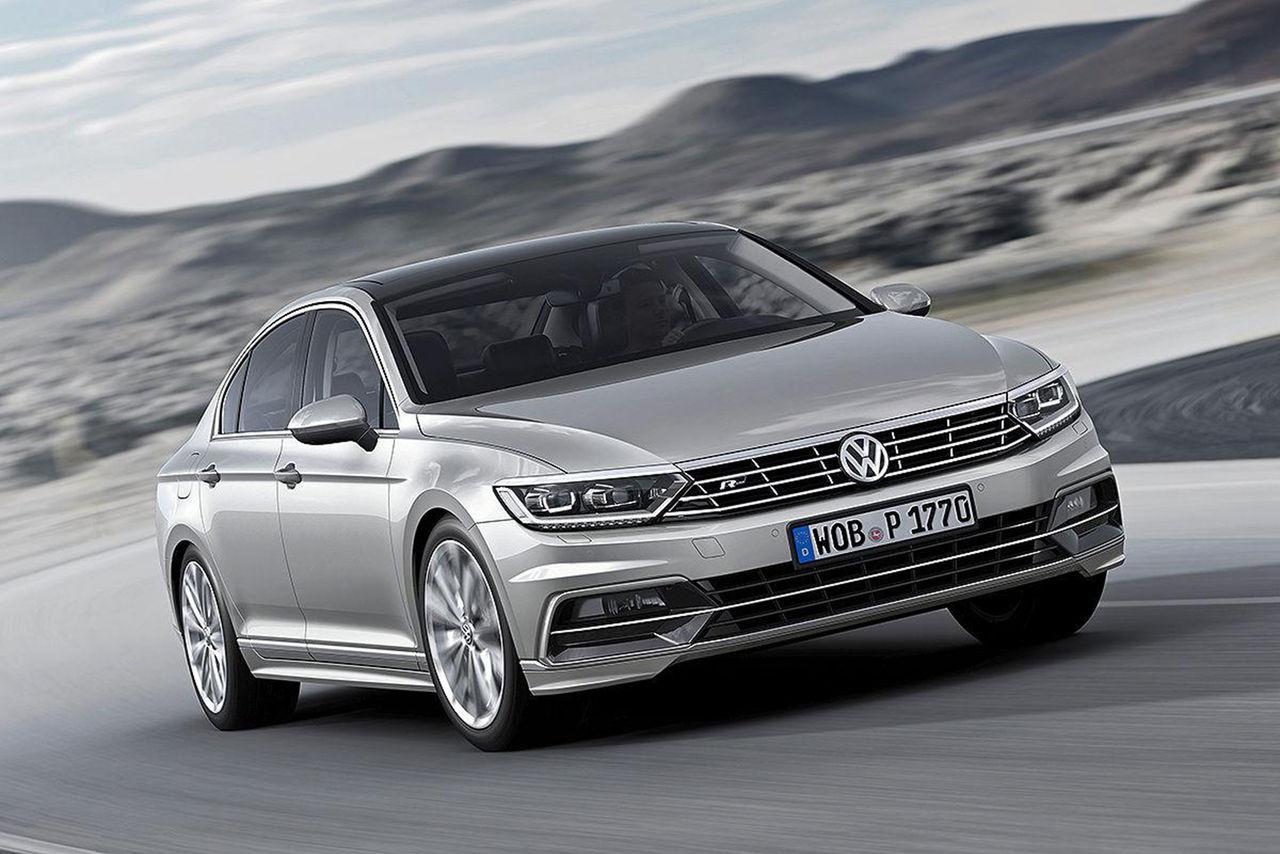 Säg välkommen till nya Volkswagen Passat
