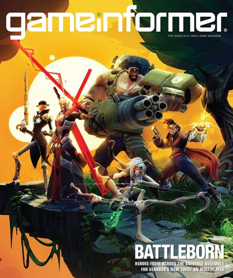 Gearbox nya spel heter Battleborn