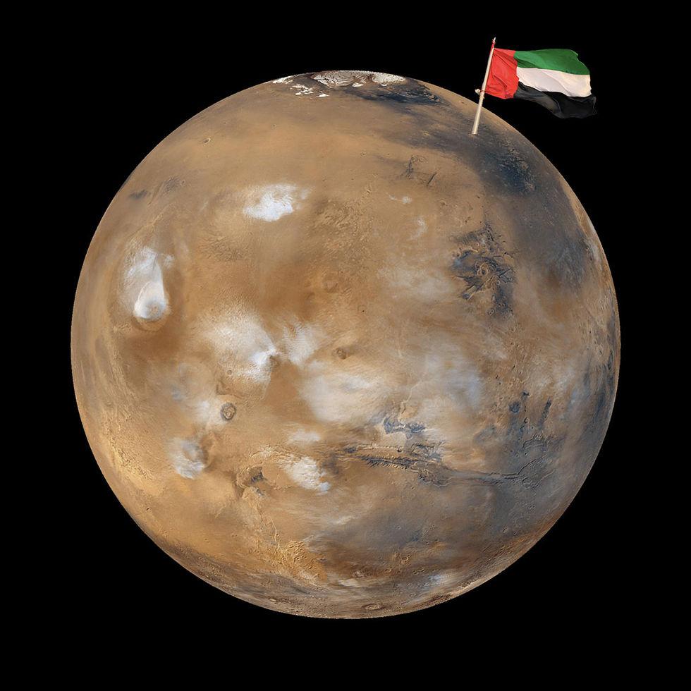Förenade Arabemiraten ska skicka obemannad raket till Mars