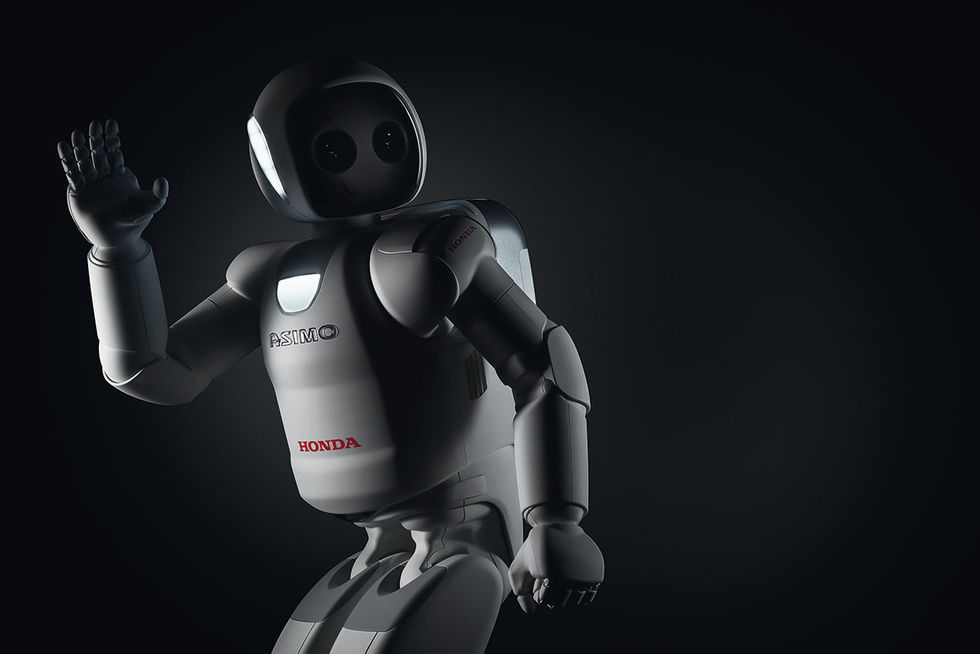 Honda visar ny version av Asimo