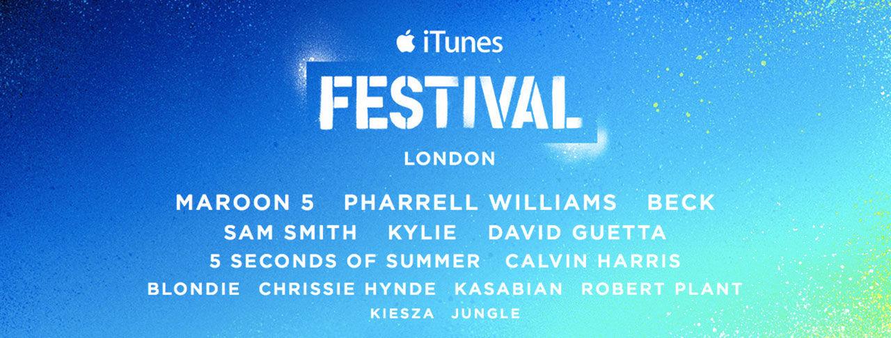Snart dags för iTunes Festival 2014