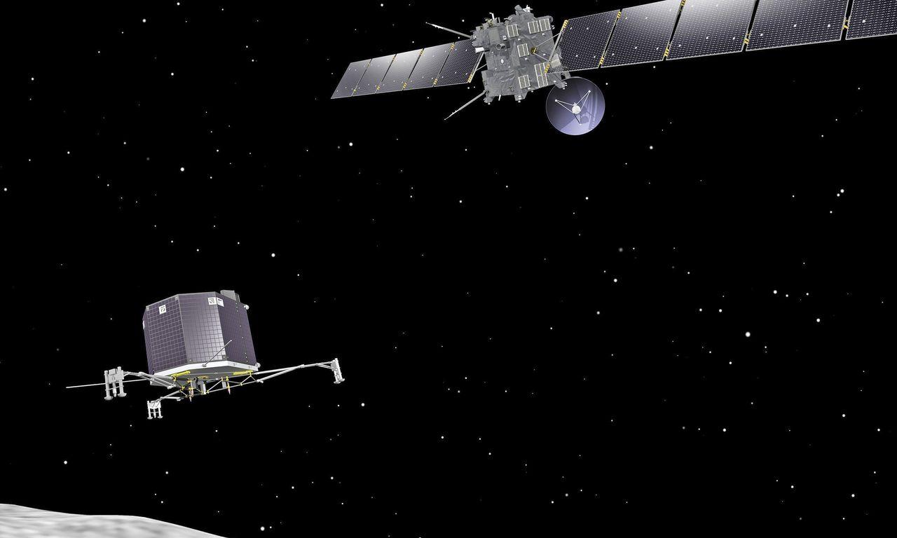 Rosetta når snart sitt mål