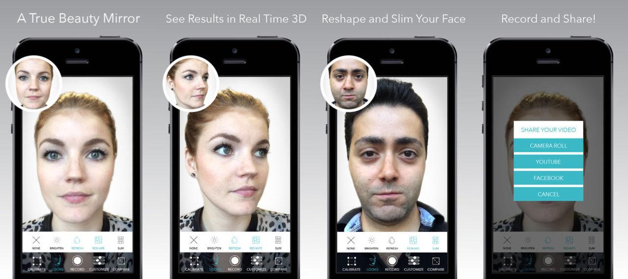 Fixa snyggare selfies med Beauty Mirror