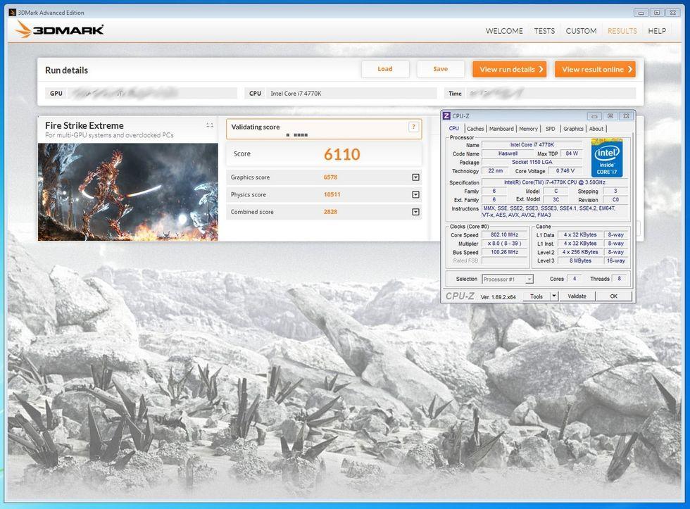 3DMark FireStrike benchmark kan vara från GeForce GTX 880