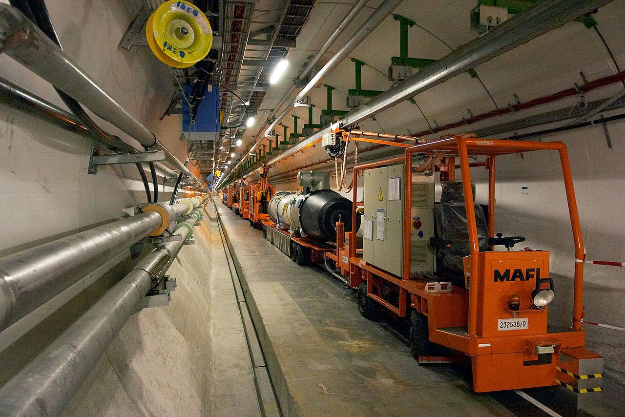 Kina vill bygga världens största partikelaccelerator