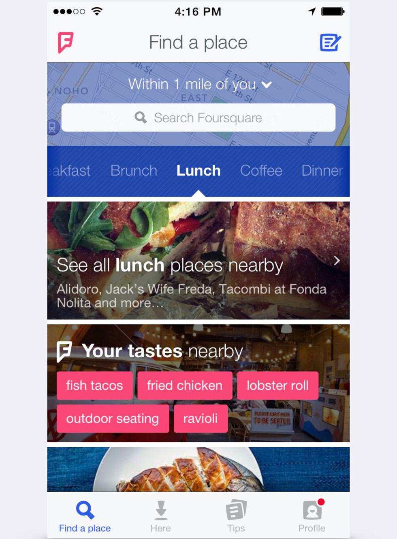 FourSquare görs om helt