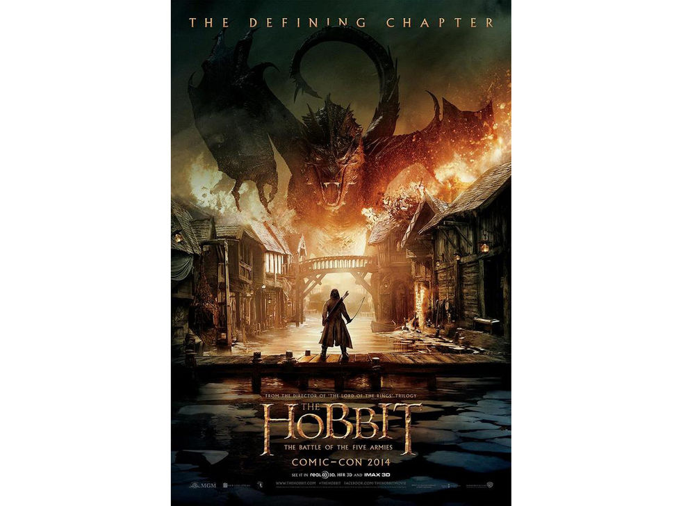 Poster för The Hobbit: The Battles of the Five Armies