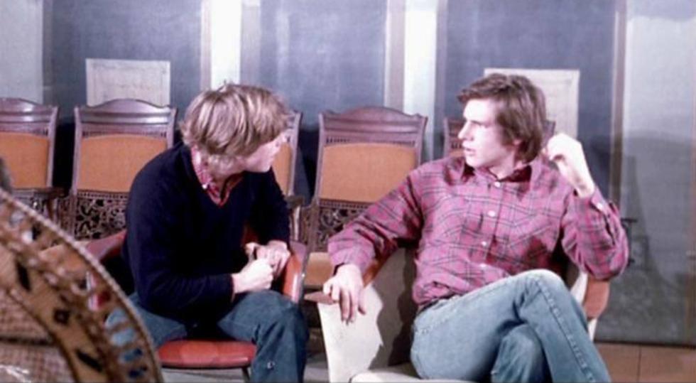 Mark Hamill och Harrison Ford på audition för Star Wars