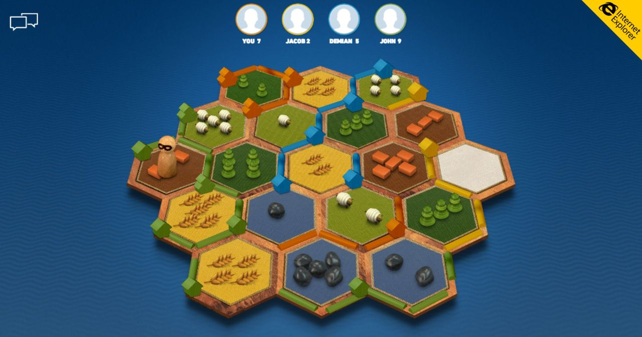 Betatesta Catan Anytime