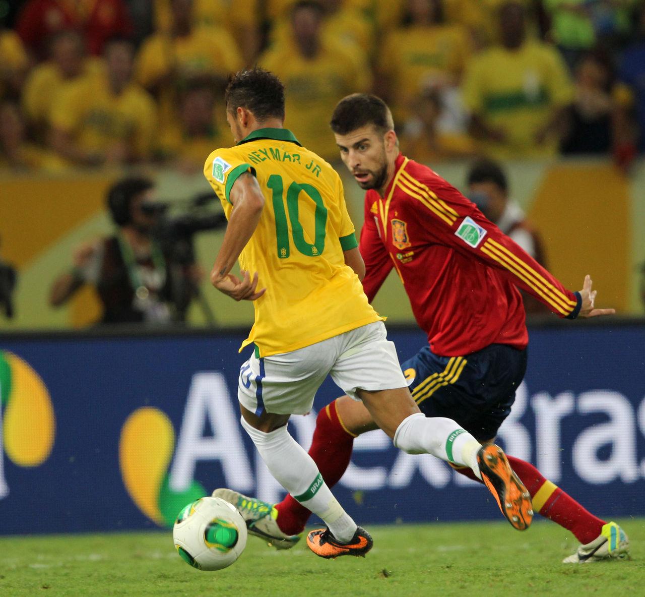 Neymar spelar med låg hjärnaktivitet