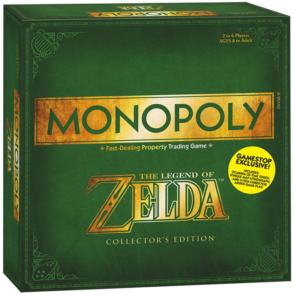 Monopol kommer i en specialdesignad Zelda-version
