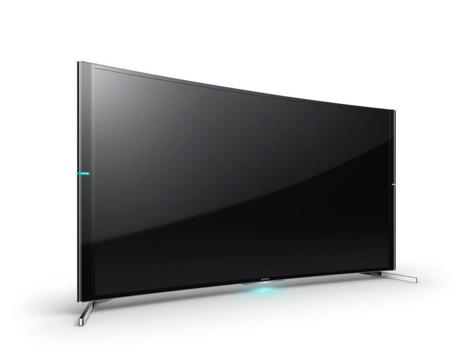 Sony lanserar välvd TV