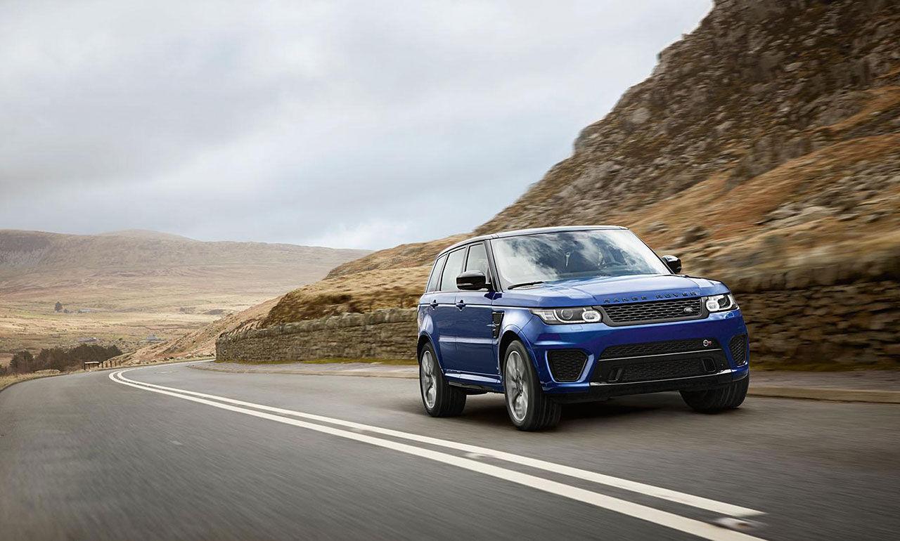 Land Rover presenterar supersuven Range Rover SVR