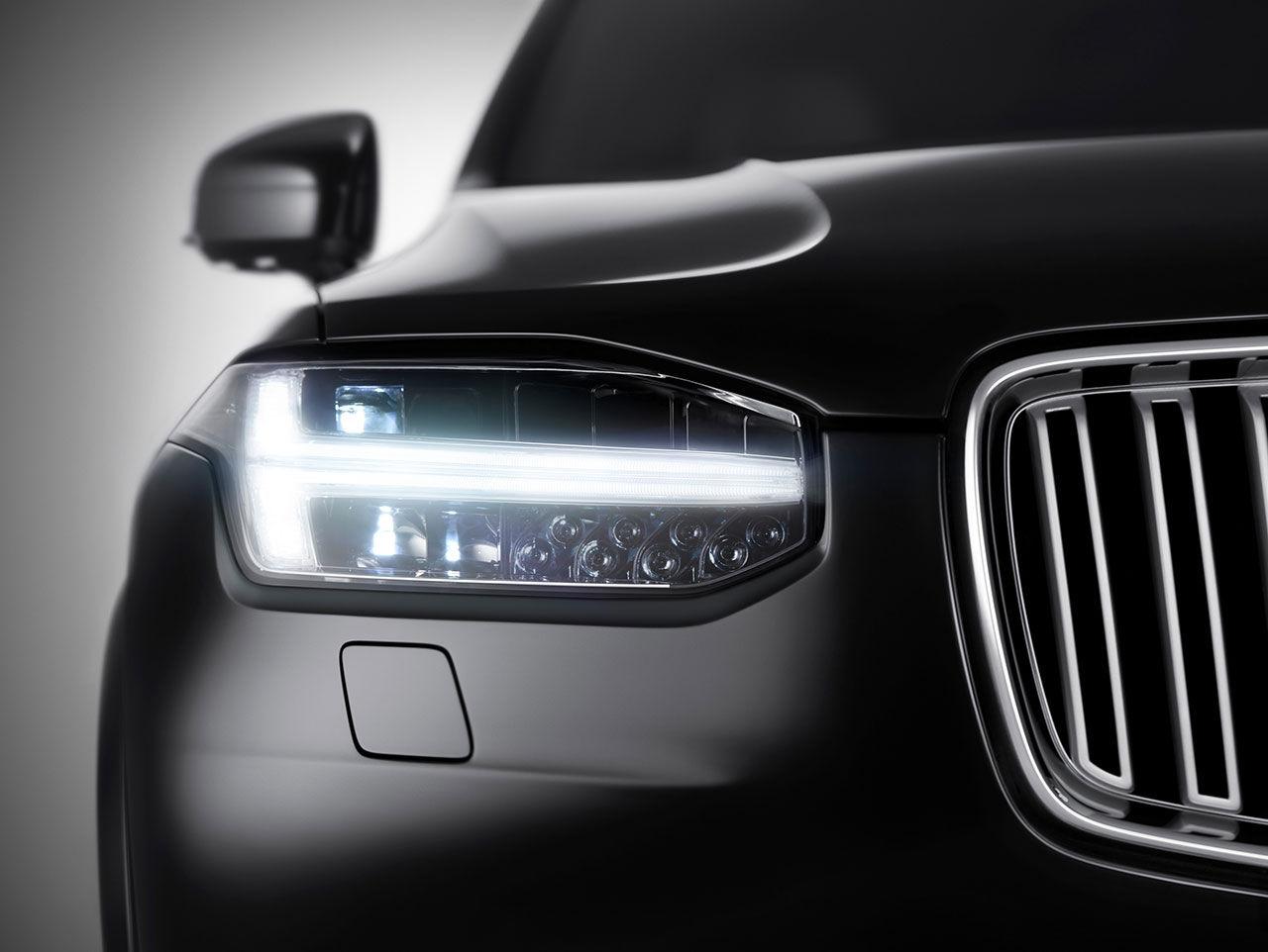 Det här är ansiktet på nya Volvo XC90