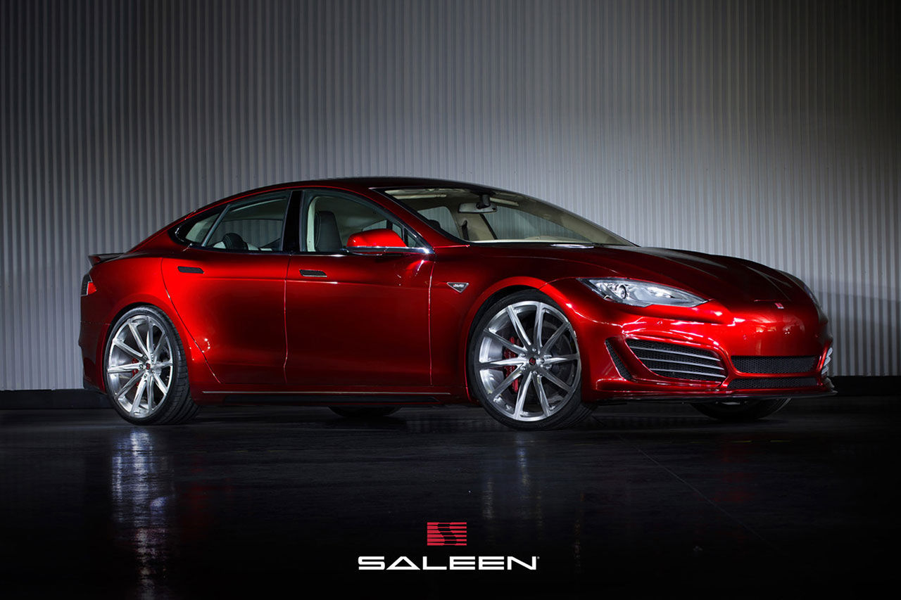 Saleen presenterar sin version av Tesla Model S