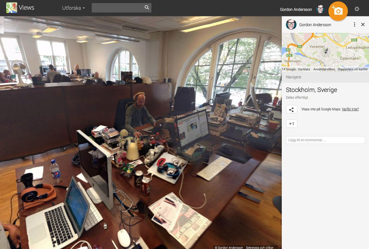 Google släpper Photo Sphere till iOS