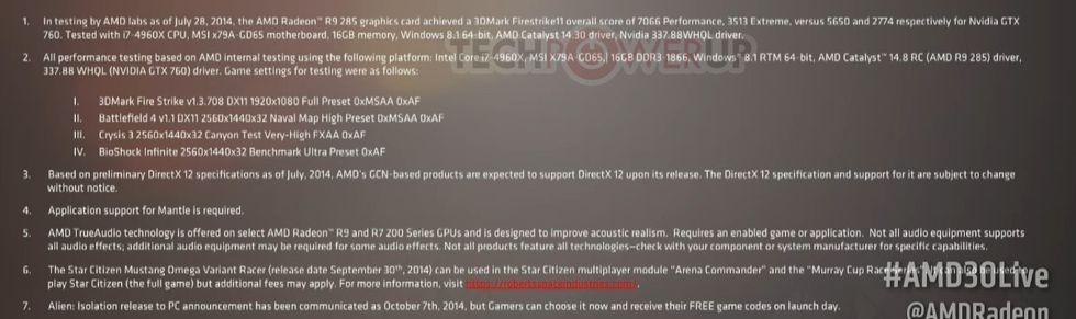 Radeon R9 285 slår GeForce GTX 760 i 3DMark FireStrike