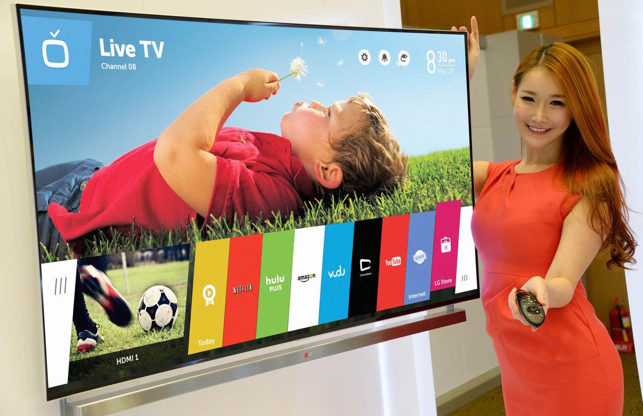 Historien om LG:s smarta tv-apparater
