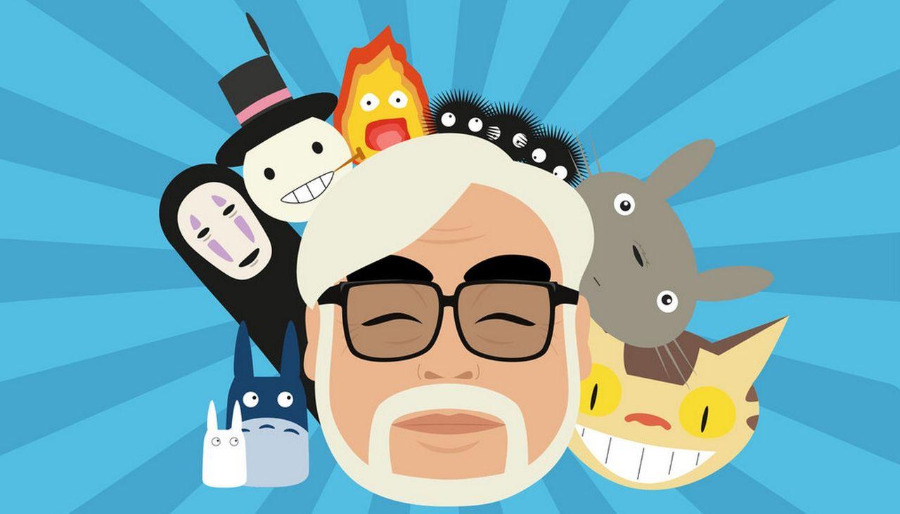 Hayao Miyazaki belönas med en Oscar