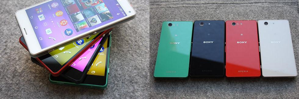 Läckta bilder på Sony Xperia Z3