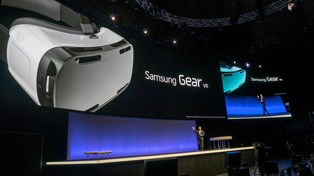 Samsung släpper VR-glasögon