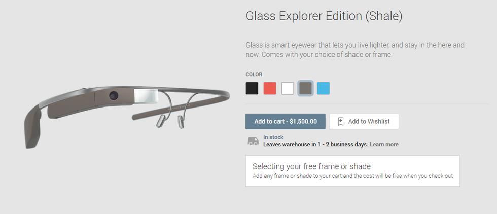 eb242fb7af81 Nu kan alla köpa Google Glass. Finns tillgänglig via Goolge Play ...