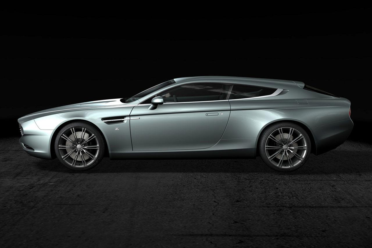 Zagato bygger shooting brake-version av Aston Martin Virage
