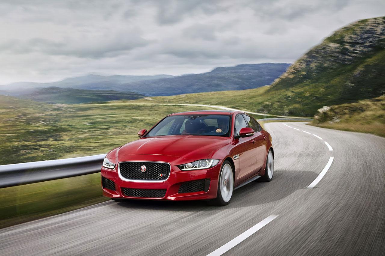 Jaguar presenterar äntligen nyheten XE