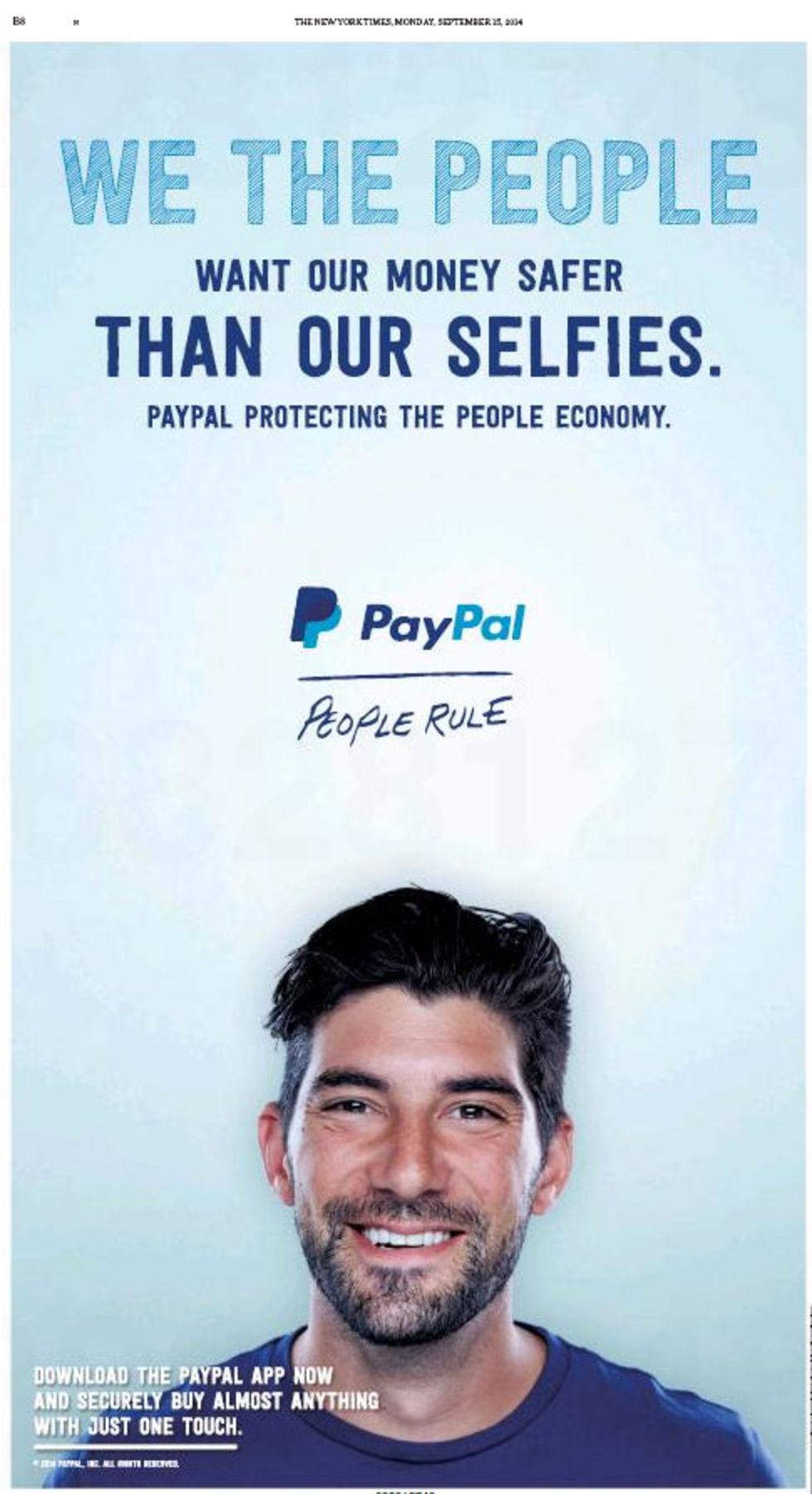 Paypal attackerar Apple Pay i ny reklam