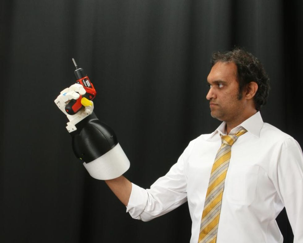 Robothand för djuphavsdykare