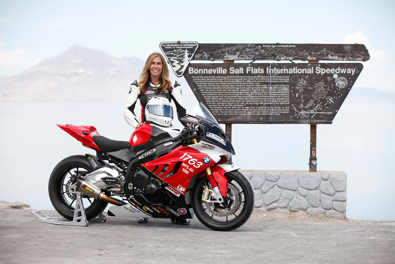 Valerie Thompson nu medlem i 200 mph-klubben