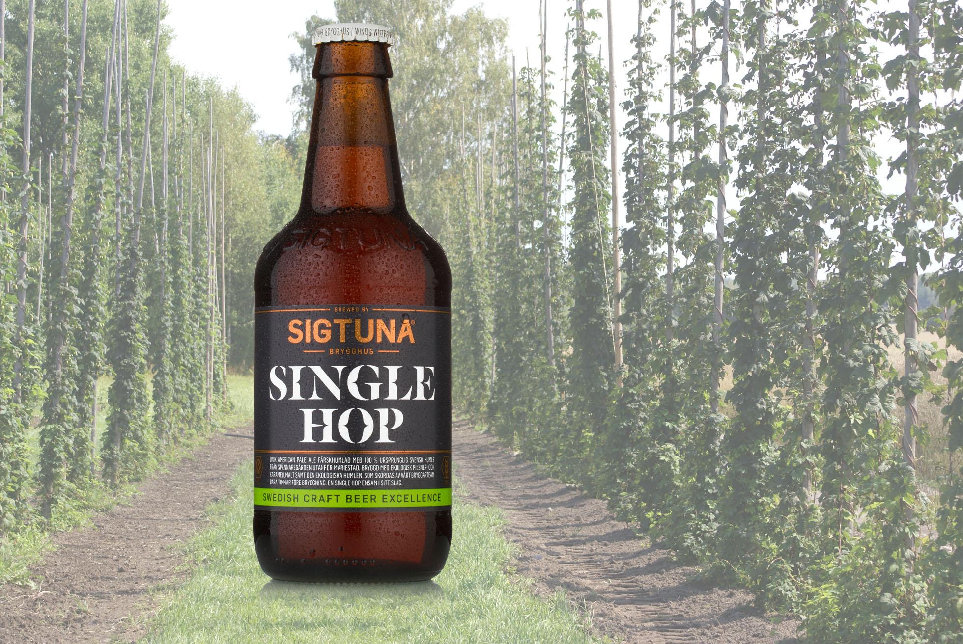 Sigtuna Swedish Single Hop Organic Pale Ale