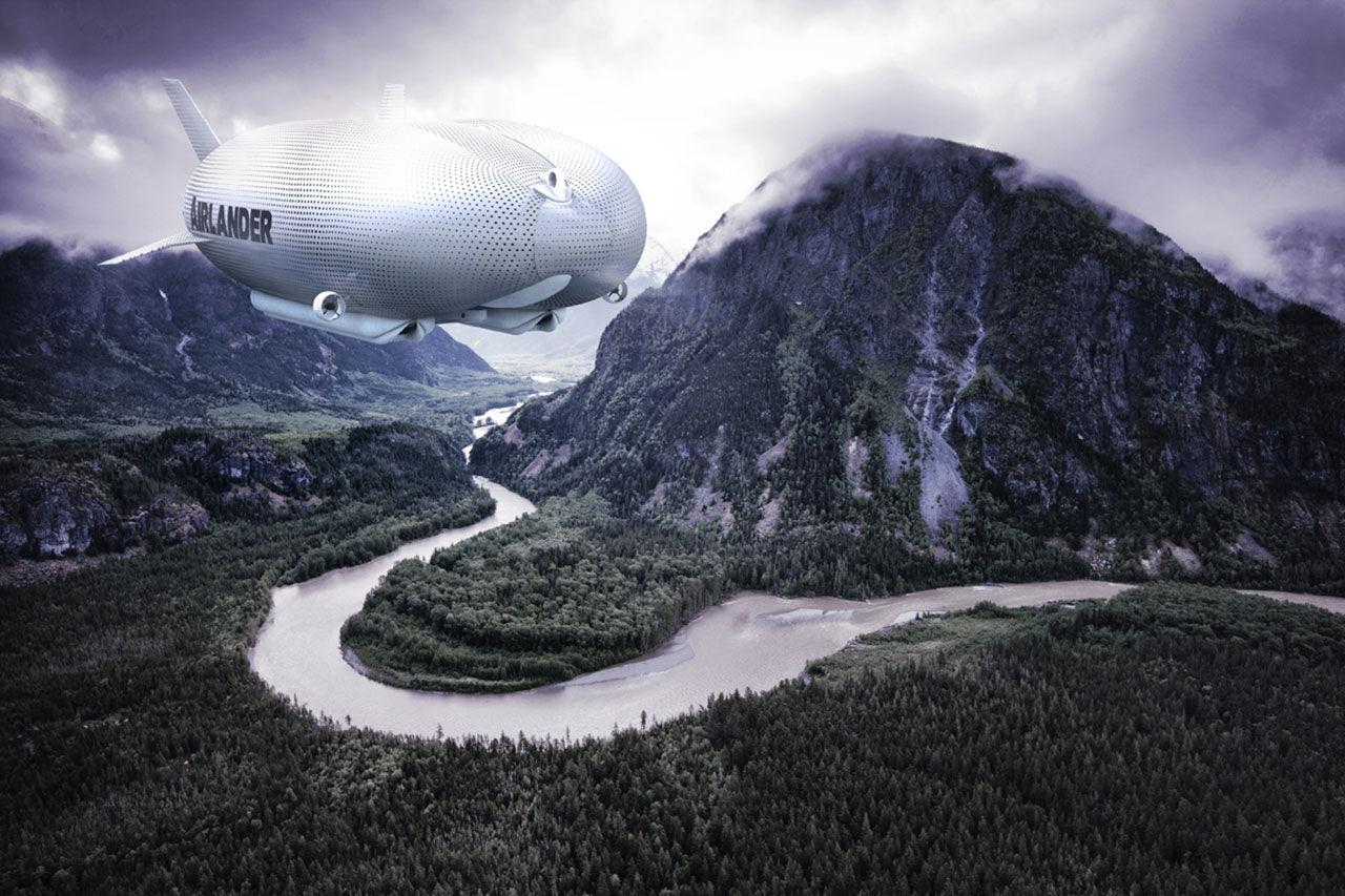 Airlander - världens största luftfarkost