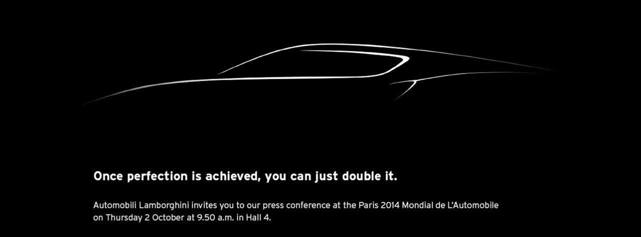 Lamborghini visar skiss på ny modell