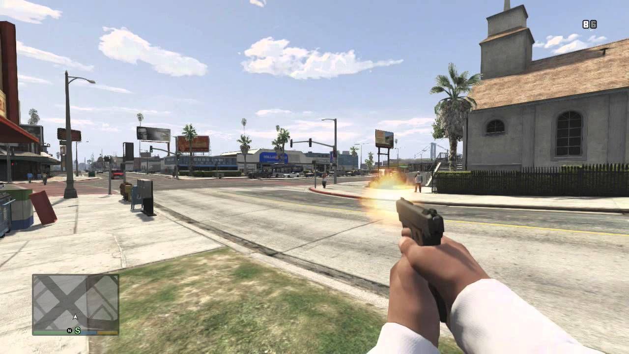 FPS-läge till Grand Theft Auto V?