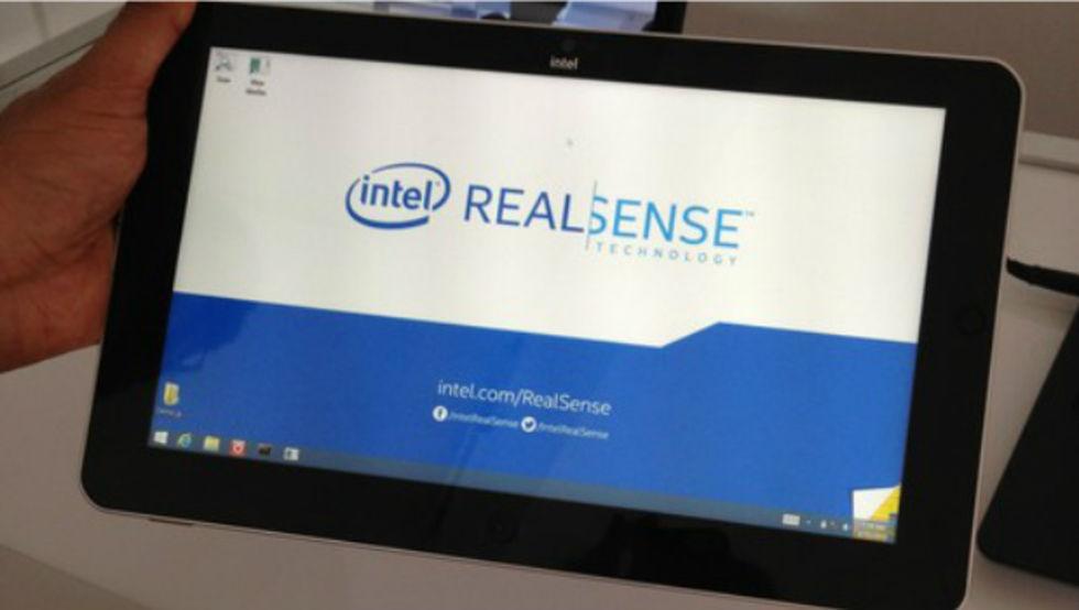 Intel vill utrusta tablets med 3D-skanner