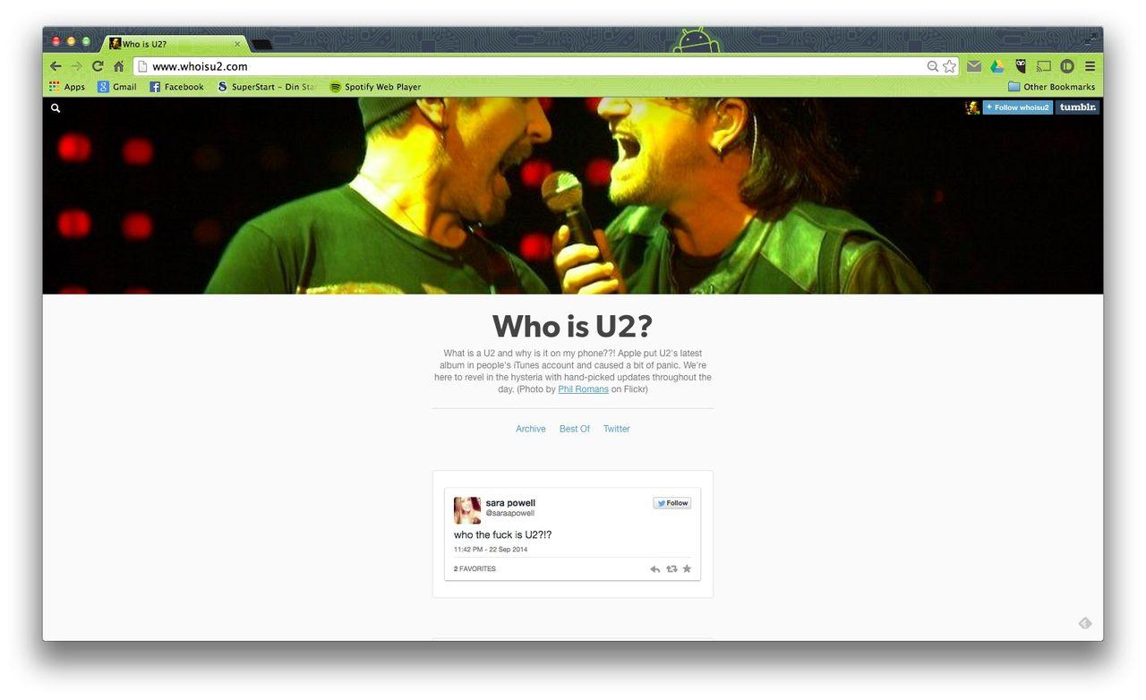 Who is U2