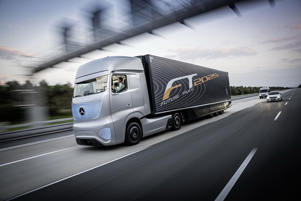 Det här är framtidens lastbil enligt Mercedes