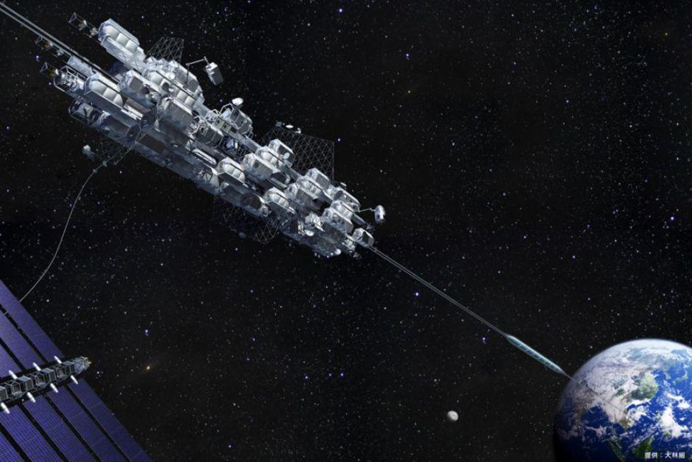 Japanskt företag vill bygga en hiss till rymden