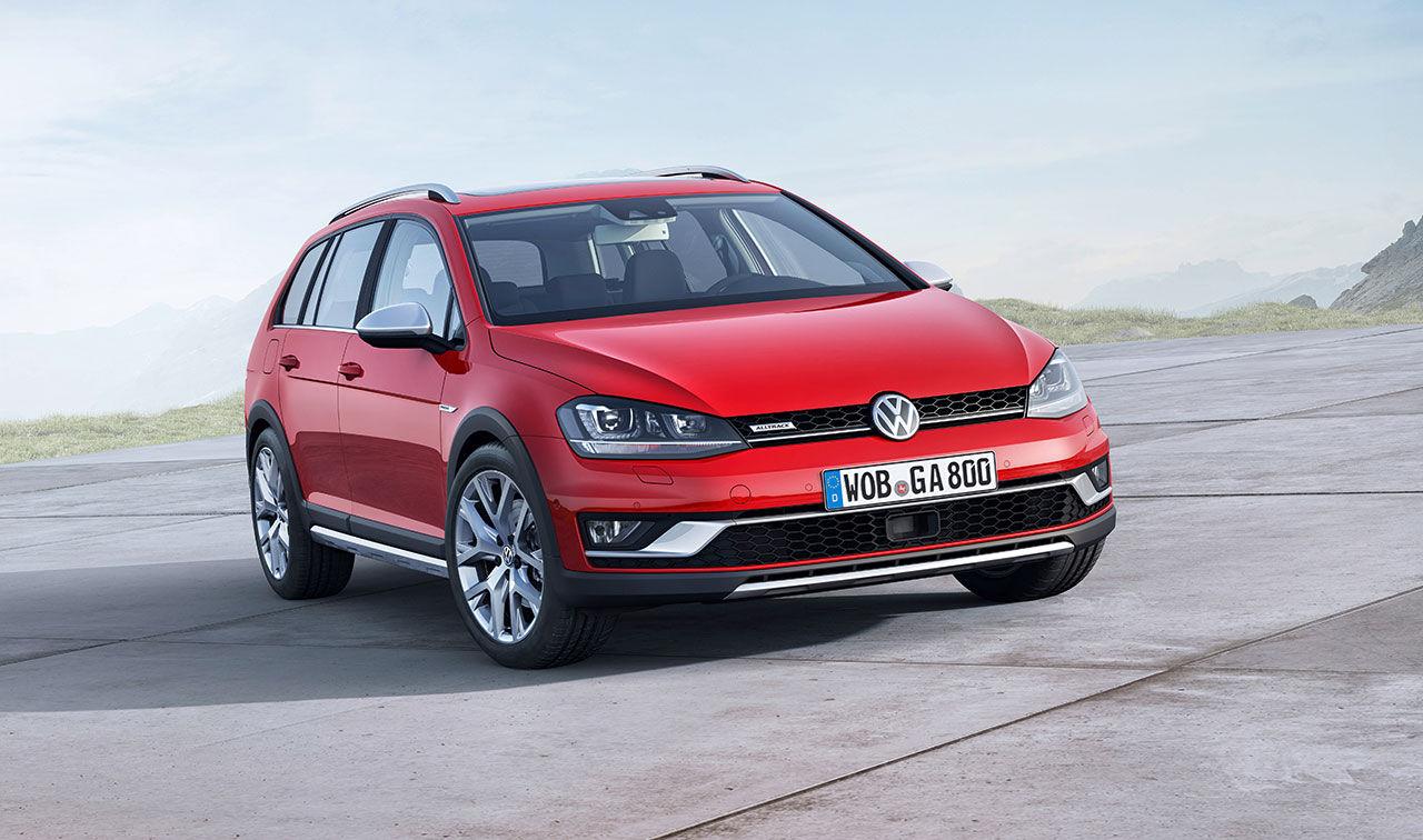 Volkswagen presenterar Golf i Alltrack-utförande