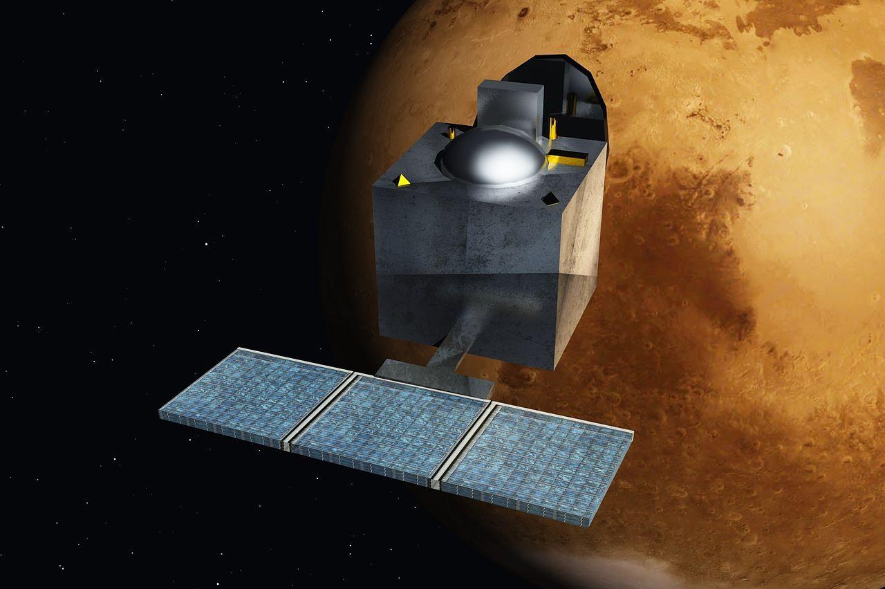 Indisk satellit nu i omloppsbana runt Mars
