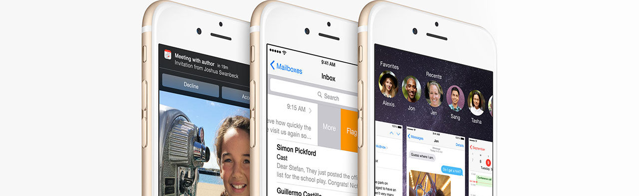 iOS 8.0.1 kom, buggade och försvann