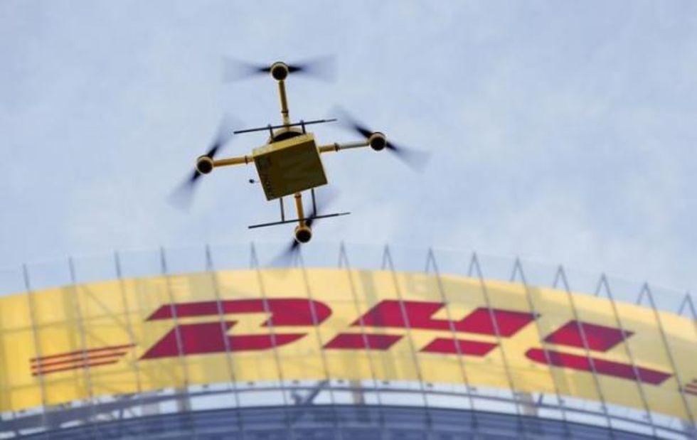DHL börjar leverera paket i Europa med drönare